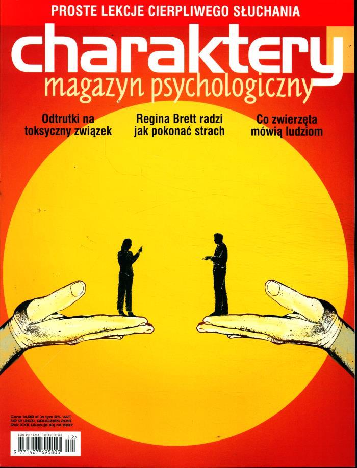 Charaktery Miesięcznik . Psychologiczny