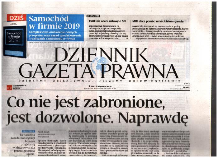Dziennik Gazeta Prawna Dziennik
