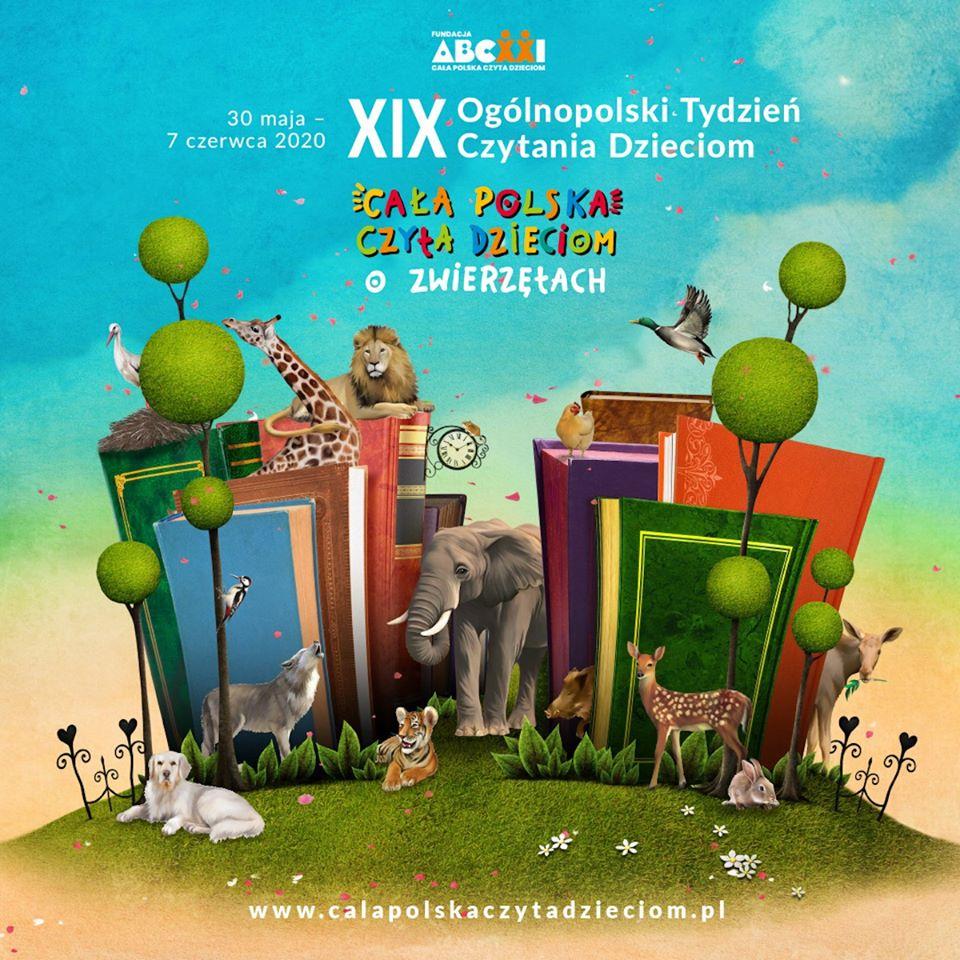 XIX Ogólnopolski Tydzień Czytania Dzieciom 30 maja - 7 czerwca 2020 r.