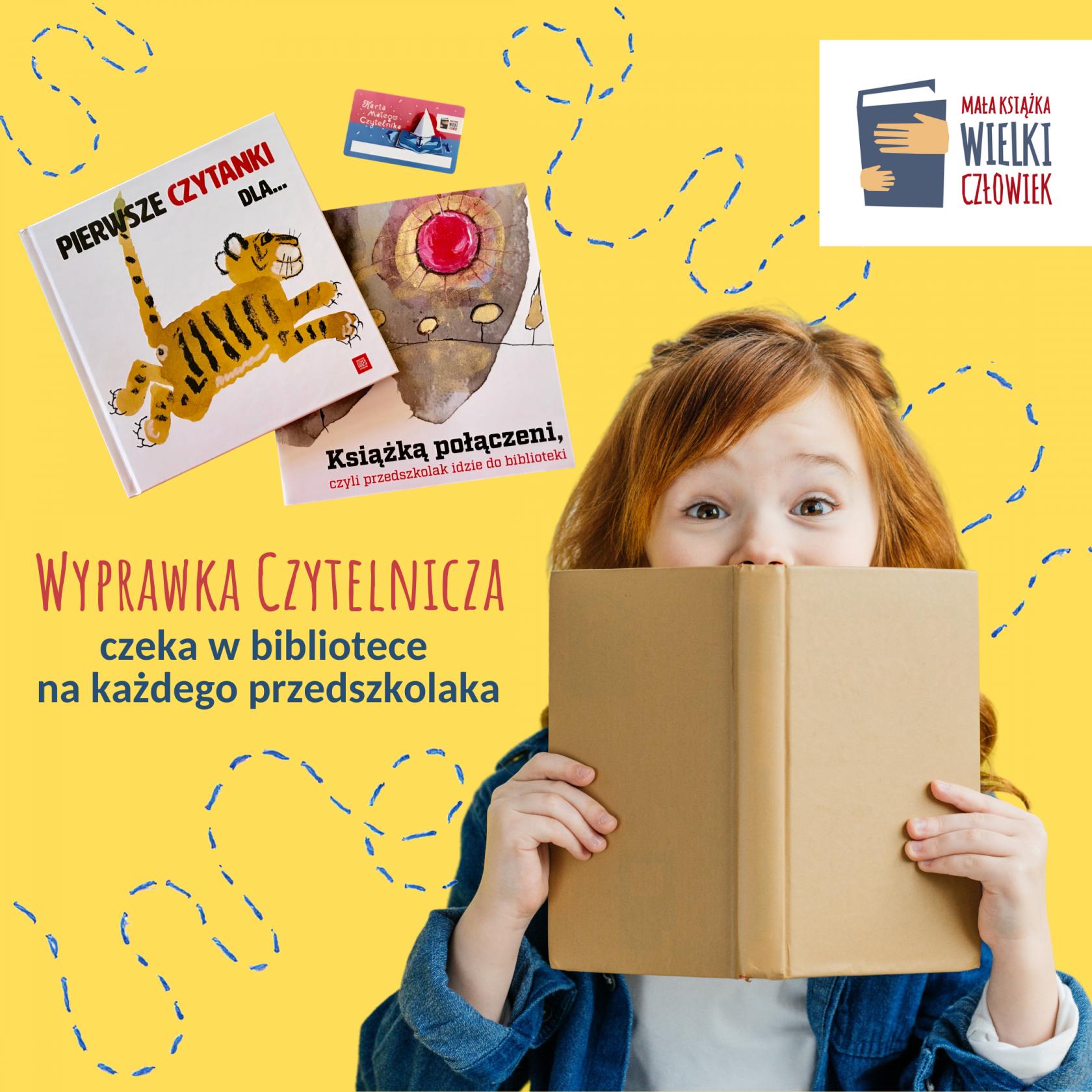 Bezpłatna Wyprawka Czytelnicza dla przedszkolaka