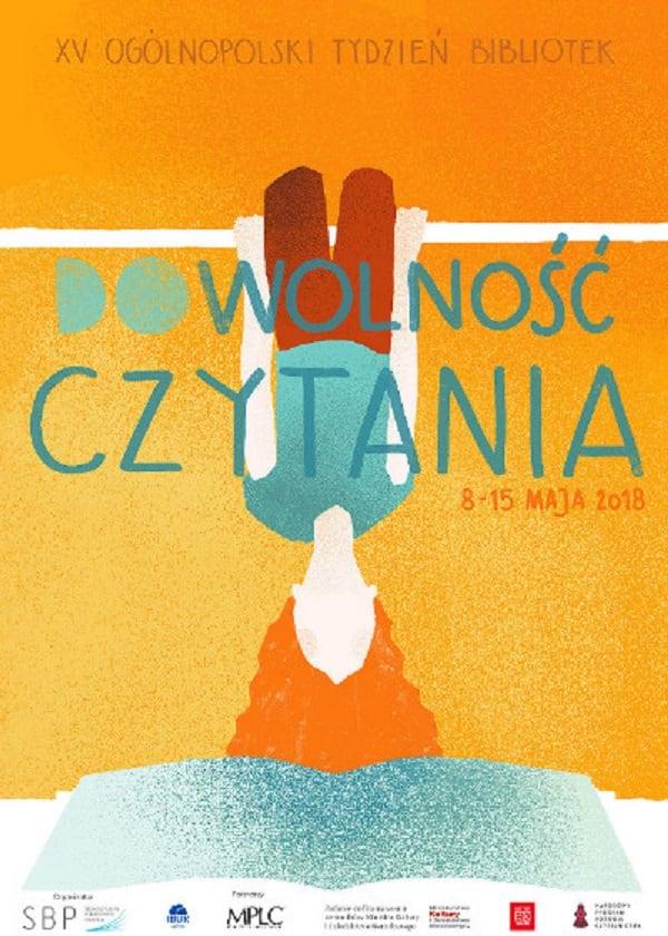 XV Ogólnopolski Tydzień Bibliotek 8-15 maj